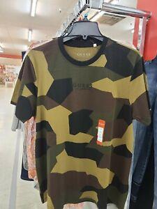 Guess Los Angeles Camo Camouflage Shirt Tshirt