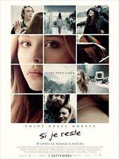 Affiche 120x160cm SI JE RESTE /IF I STAY (2014) Chloë Grace Moretz NEUVE