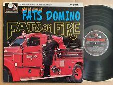 Fats Domino - Fats On Fire 1964 UK HMV vinyl LP