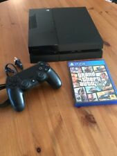 Sony PlayStation 4/PS4 - Original 500GB Jet Black Console with 1 Game GTA