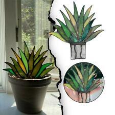 Suncatcher Stained Agave Plante Decor Garden Ornament NEU