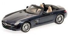 Mercedes-Benz SLS AMG Roadster (blu-metallizzato) 2011
