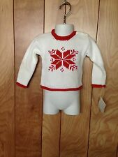 TODDLER BOY'S HARTSTRINGS SNOWFLAKE SWEATER-SIZE: 3 MONTHS