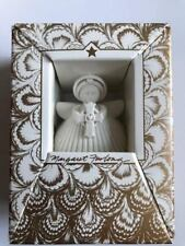 Margaret Furlong Bisque Porcelain Angel 2000 Heart Of Faith Ornament- Nib New