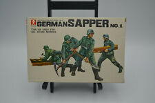 German Sapper No.1-1/48 Scale Soldier Series No.3 Bandai Plastic Assembly Kit
