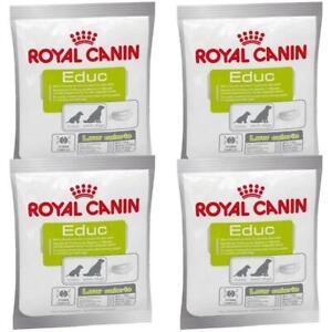 4 x Royal Canin Educ Dog Puppy Training Reward Snack Treat - Low Calorie - 50g