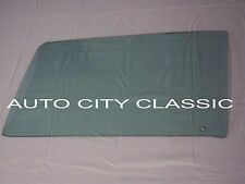 1969 1970 Dodge Charger Plymouth Road Runner Hardtop Door Glass Right Pass Green