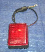 1981 HONDA XR500R TAILLIGHT HONDA XR500 BACK FENDER TAIL LIGHT