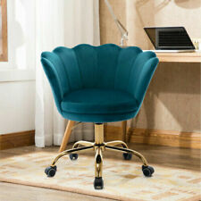 Home Office Velvet Chair Accent Chair Swivel Shell Chair Height Adjustable Chair