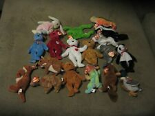 Ty Beanie Baby Babies Lot of 18 - Mixed Lot  ALL have Tags-LOT 2