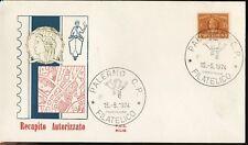 ITALIA 1974 - FDC SILIGATO - RECAPITO AUTORIZZATO Lire 35 (vedi foto)