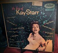 The Hits of Kay Starr T 415 Repress Mono Scranton Pressing. Capitol Records.
