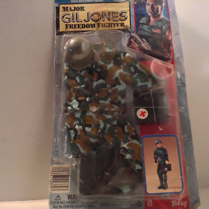 G.I.JOE major Gil Jones Freedom Fighter uniform