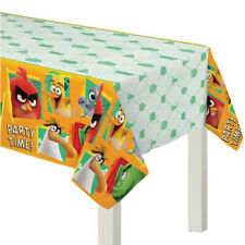 ANGRY BIRDS 2 PLASTIC TABLE COVER ~ Birthday Party Supplies Decoration Cloth