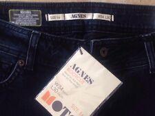 "Moto @ Topshop Agnes Bootleg Bootcut Jeans Size 16  34W 30"" Long Free UK P&P"