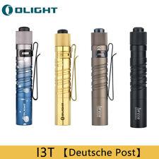 Olight I3T EOS Serie 180 Lumen Dual Output Slim EDC Taschenlampe Outdoor Fackel