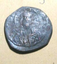JESUS CHRIST Ancient c1059 - 1067 Constantine X Ducas Byzantin Follis Coin 9.4 g