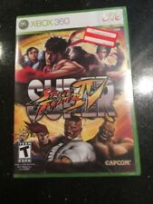 Super Street Fighter IV - Xbox 360 by Capcom Brand New Factory Sealed