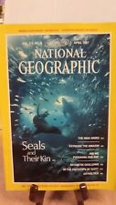National Geographic Magazine Nat Geo April 1987 with supplement (NG29)