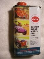 VINTAGE COX CUSTOM BLEND GLOW FUEL 1/2 PT CAN VERY GOOD CONDITION