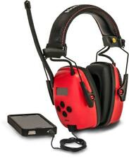 Honeywell Earmuff Hearing Protection Headphone Radio Noise Safety Reduction MP3