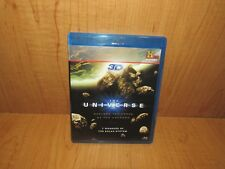THE UNIVERSE 7 WONDERS OF SOLAR SYSTEM BLU RAY 3D + BLU RAY  HISTORY CHANNEL