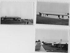 Konvolut 3x altes s/w Foto FDGB Urlauberdorf Boltenhagen 60er Jahre Vintage DDR