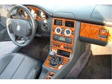 MERCEDES BENZ SLK 1998 1999 2000 2001 2002 2003 2004 INTERIOR WOOD DASH TRIM KIT