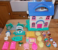 FP, Little People, Dolls House, with 19 accessories, inc. furniture & people
