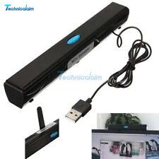 USB Multimedia Mini Speaker Black for Computer Desktop PC Laptop Notebook Tablet