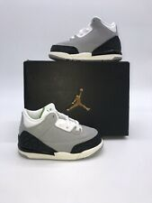 Nike Air Jordan 3 Retro Tinker Grey Chlorophyll Lot 832033- 006 Toddler (TD) 7c