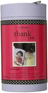 Philosophy Thank You Raspberry Sorbet ~ 8oz Shower Gel +0.4oz Lip Shine Gift set