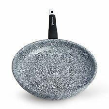WaxonWare 8 Inch Non Stick Frying Pan / Skillet With STONETEC PTFE, PFOA and &