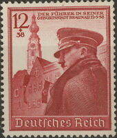 Stamp Germany Mi 691 Sc B137 1939 WW2 Fascism War Hitler Birthday MNH
