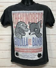 THE HUNDREDS SHIRT GODZILLA VS BAMBI LIMITED EDITION Size Small