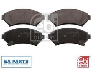 Brake Pad Set, disc brake for BUICK OPEL FEBI BILSTEIN 116156