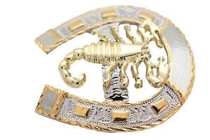 Men Silver Metal Belt Buckle Horseshoe Western Fashion Gold Scorpion Motorcycle
