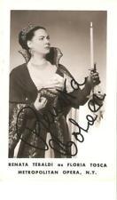 Renata Tebaldi, orig. sign, Foto