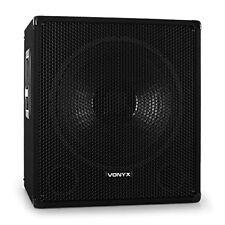 Skytec Caisson de basses actif DJ PA Subwoofer 15 600w