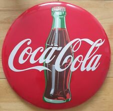 More details for coca cola wood advertising sign 16