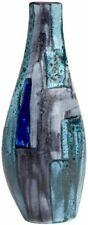 Poole Pottery Lapis Aymmetrical Twist Vase 34cm