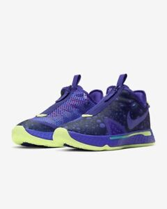 LAST PAIR Authentic New Nike PG4 'Gatorade Gx' color purple men's shoes sz 10