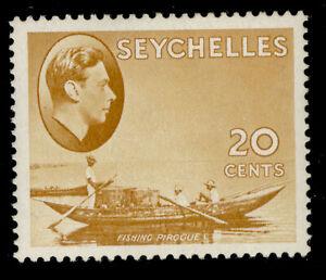 SEYCHELLES GVI SG140ab, 20c brown-ochre, M MINT.