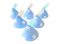 Pee Pee Teepee x6 / Wee Stop Cones Teepees / Boy Baby Shower Gift / Mixed Stars
