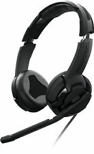 ROCCAT KULO Stereo Gaming Headset with Mic, Black 2X 3.5mm Jack + Extra Ear Pads