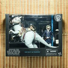 Hasbro Star Wars Black Series Han Solo and Tauntaun Deluxe Action Figure Set
