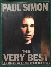 Paul Simon The Very Best A Collection Of His Greatest Hits Book Songs Music 1994