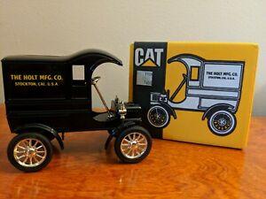 Caterpillar 1905 Delivery Car Bank Ertl 1989 #7709