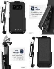 BLACK Encased Belt Clip Holster for Mophie Juice Pack Battery Case - Samsung