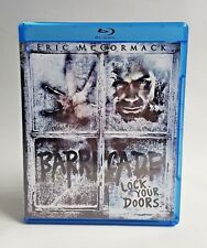 Barricade Blu-ray Disc 2012 Widescreen Horror Thriller Suspense Eric Mccormack